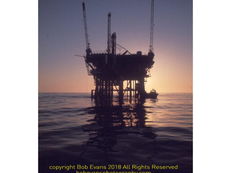 platform holly, decommission platform, offshore oil platform